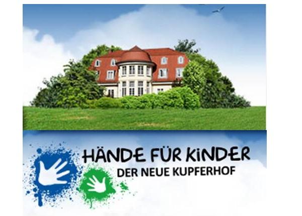 Viele Jahre wurde der Kupferhof von der Stadt Hamburg als Seminargebäude genutzt. Anfang 2012 hat ihn Hände für Kinder übernommen und den Umbau zu einem komfortablen Wohlfühl-Kurzzeit-Zuhause für behinderte Kinder und ihre Familien gestartet. (http://haendefuerkinder.de/)